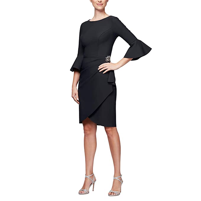 Women's Slimming Short Ruched Dress