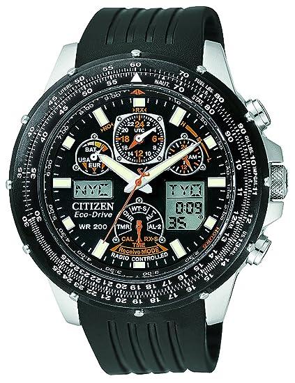 Citizen JY0000-02E - Reloj analógico de cuarzo para hombre, correa de goma color
