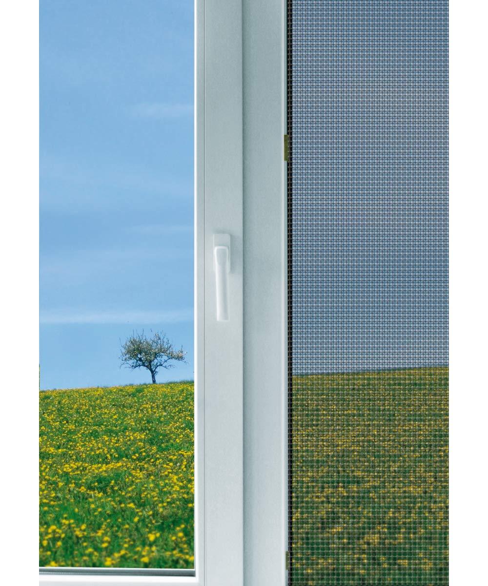 Schellenberg 50324 150 x 300 cm Mosquitera para ventanas color blanco protecci/ón anti insectos y moscas