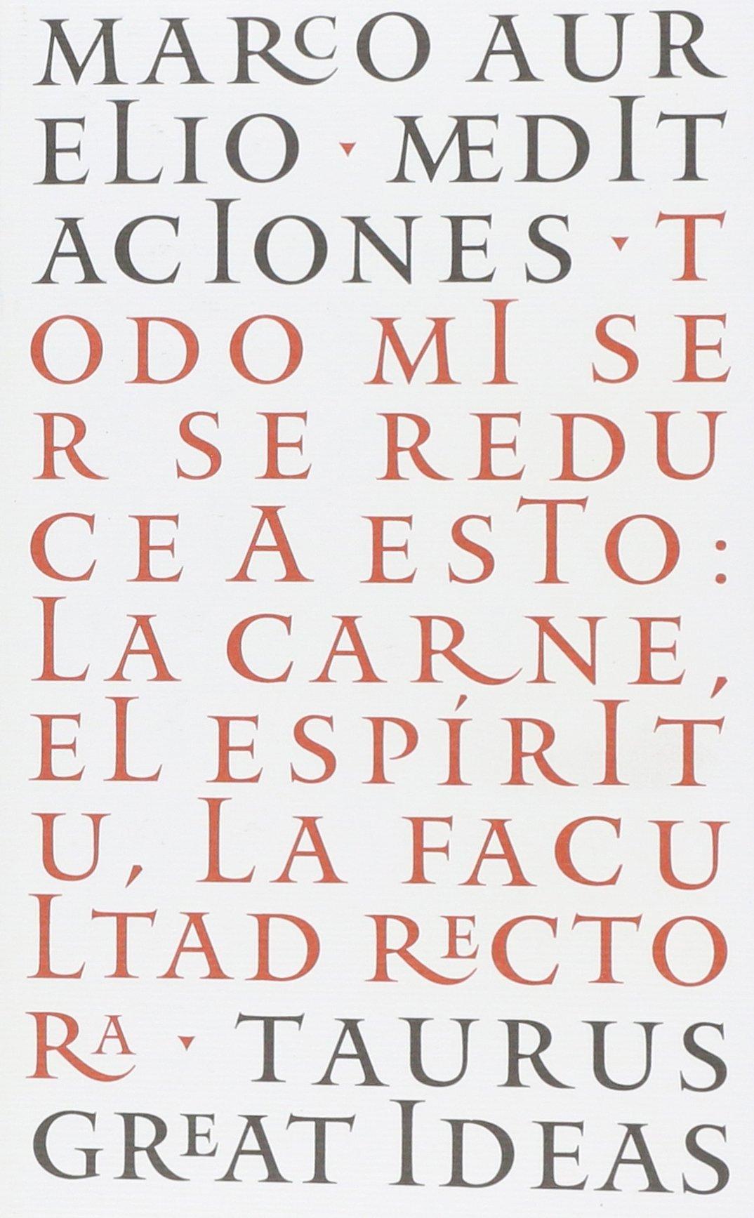 Meditaciones: Marco Aurelio: Amazon.com.mx: Libros