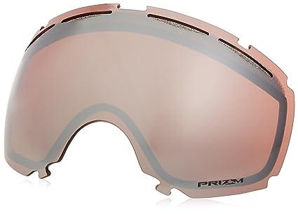 c72cdabc9021 Oakley Canopy Prizm Men s Replacement Lens Snow Goggles Accessories - Black  Iridium One Size