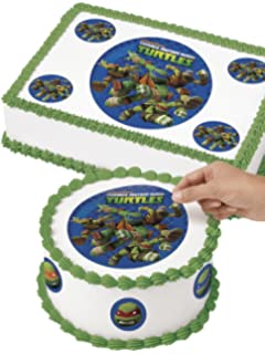 Amazoncom Teenage Mutant Ninja Turtles Birthday Cake Kit Kitchen