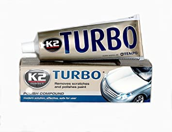 K2 Turbo Tempo Nanotech Car Wax Scratch Remover polaco compuesto Old Pintura Shine: Amazon.es: Coche y moto