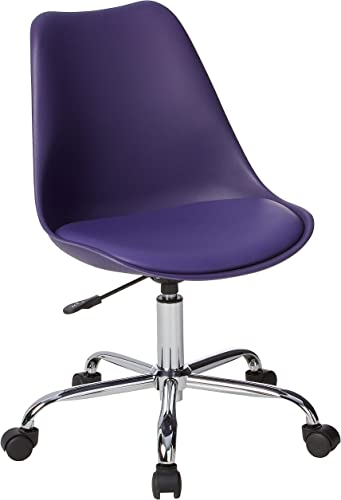 OSP Home Furnishings Emerson Polyurethane Seat Armless Task Chair