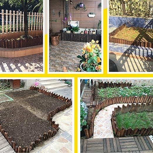 Amazon.com: LIXIONG - Valla de jardín para exteriores, borde ...
