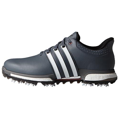 best website 57d17 e57d5 adidas Tour360 Boost, Zapatillas de Golf Hombre, (BlancoGrisRojo)