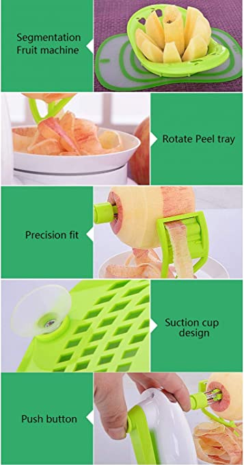 Outil de Gadget de Cuisine pour /éplucheur de Fruits de l/égumes de Pommes de Terre en Acier Inoxydable #Pennytupu