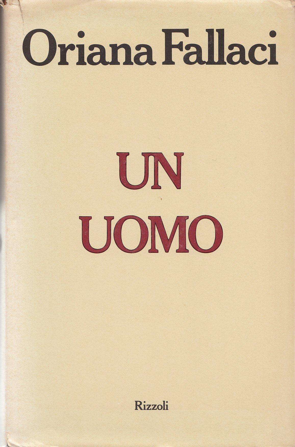 Amazon.it: UN UOMO - FALLACI ORIANA - Libri