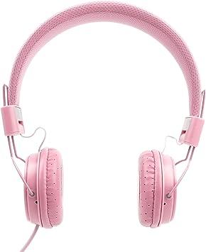 DURAGADGET Auriculares De Diadema Color Rosa Compatible con ...