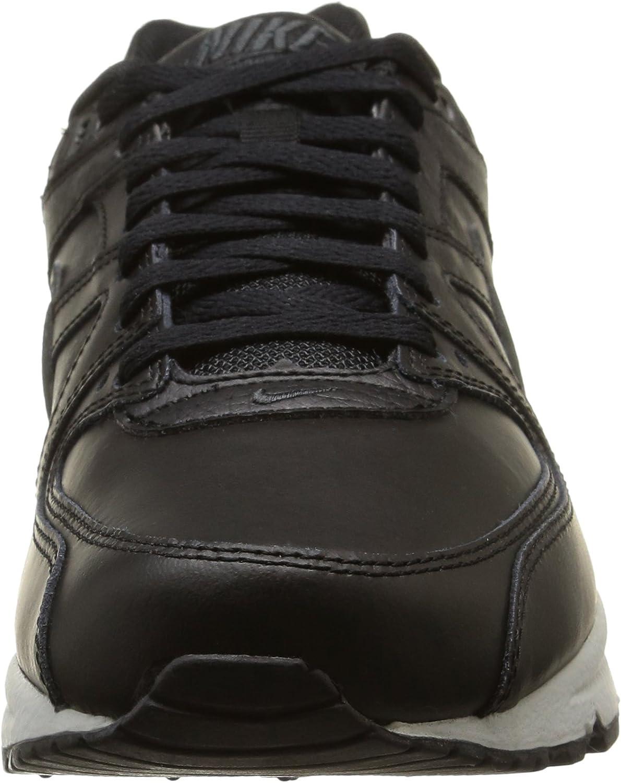 Nike Air Max Command Leather, Baskets Homme Noir Noir Anthracite Gris Neutre 001