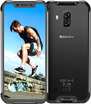 Blackview BV9600 4G Móviles Libre Resistente 2020, Helio P70 Android 9.0 Telefono IP68, 6,2 Pulgadas AMOLED Display Smartphone Antigolpes, Batería 5580mAh,16 + 8MP, 4 + 64 GB Rugged Phone Robusto: Amazon.es: Electrónica