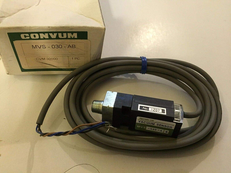 NEW CONVUM MVS-030-AB VACUUM SENSOR,BOXZC