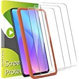 [3 Pack] UniqueMe Screen Protector for Xiaomi Mi 9T Tempered Glass [ Installation Frame ] High Definition Fingerprint…