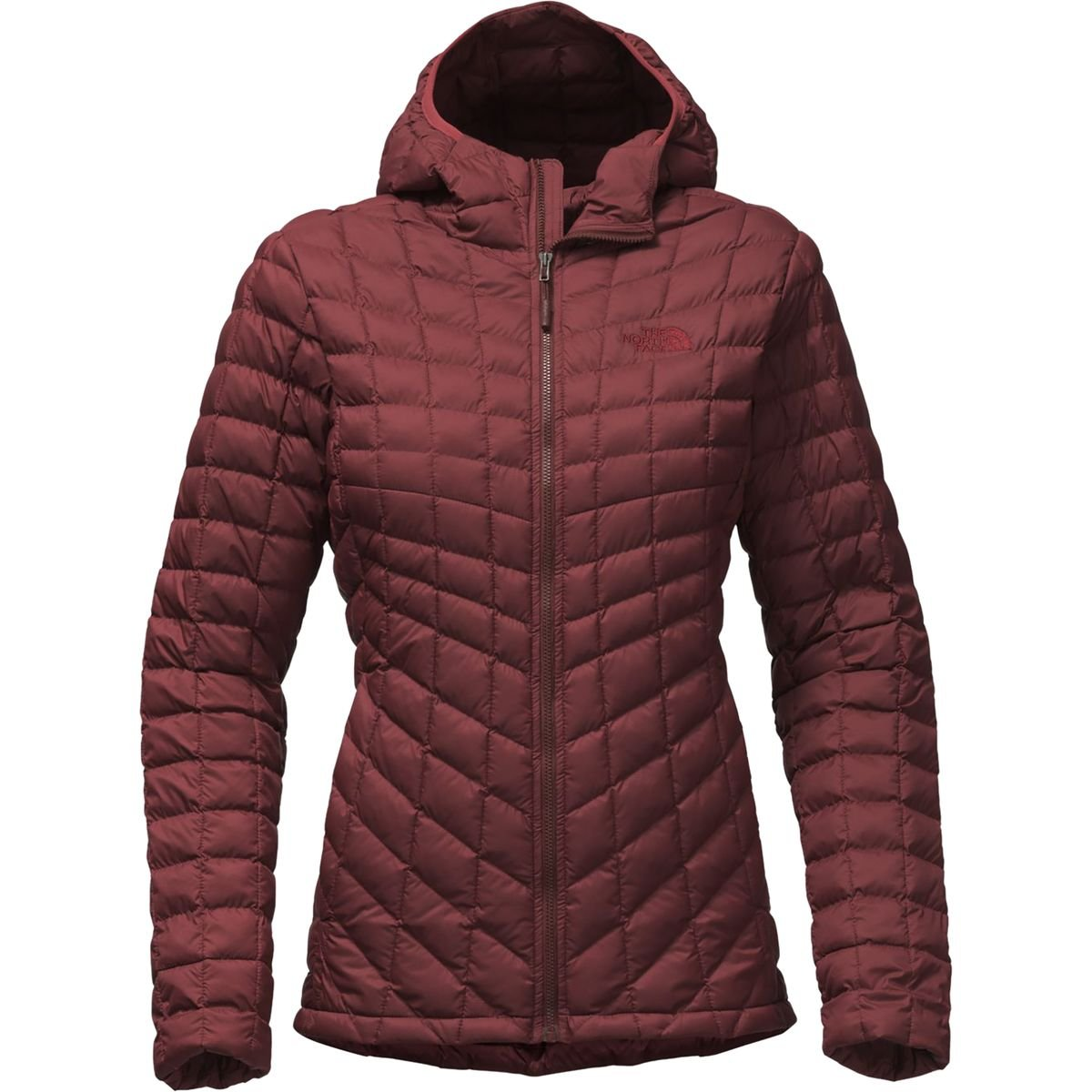 The North Face Women's Thermoball Hoodie - Sequoia Red Matte - M (Past Season) by The North Face
