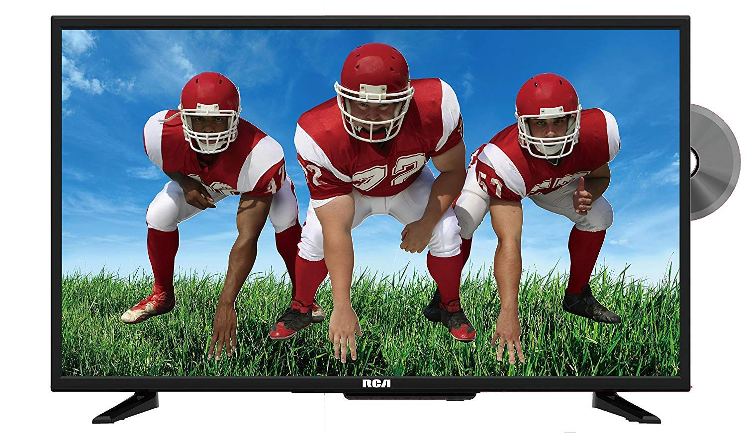 RCA 19-Inch Class LED HDTV and DVD Combo (Renewed)