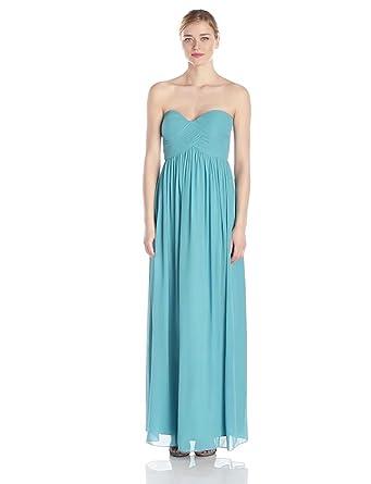 Donna Morgan Women's Lauren Dress, Blue/Green, 0