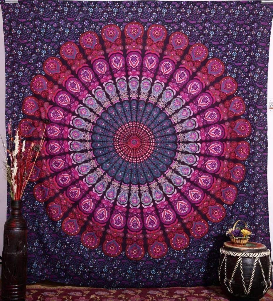 Mandala Wall Art Tapestry And Bedspread