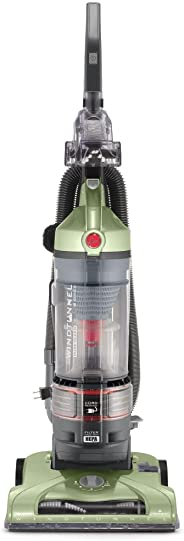 Hoover T-Series WindTunnel Rewind Plus Upright Vacuum Cleaner, with HEPA Media Filtration, Lightweight and Corded, UH70120, G
