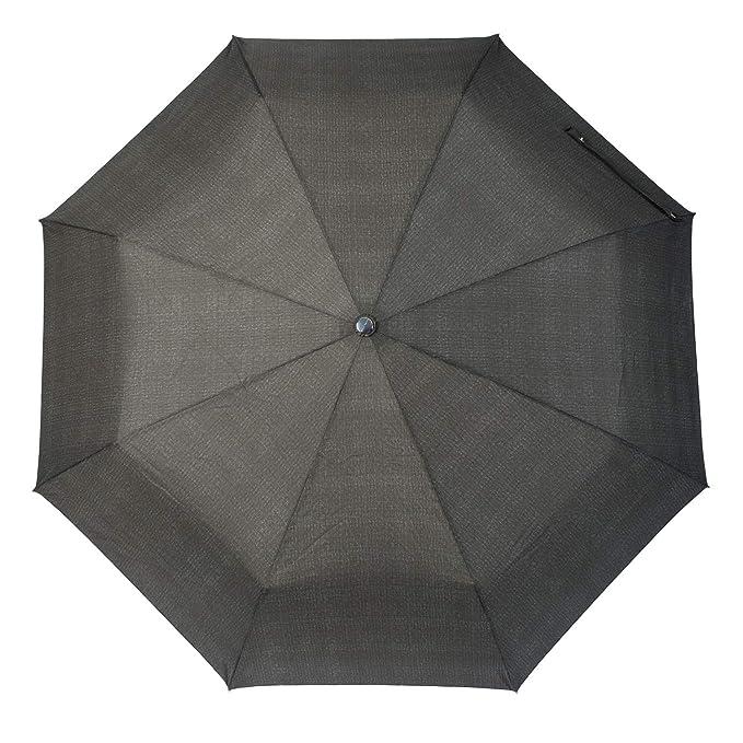 Hugo Boss Illusion Paraguas clásico, 100 cm, Negro (Black): Amazon.es: Equipaje