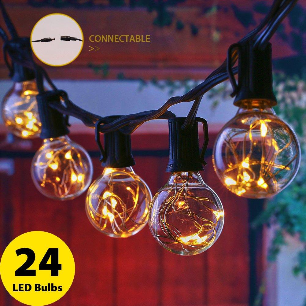 M Piezas G Globo Cadena de Luz lebefe E LED Luces bombillas