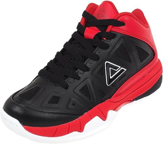 Peak - Zapatillas de Baloncesto para niño, Negro, 32: Amazon.es ...
