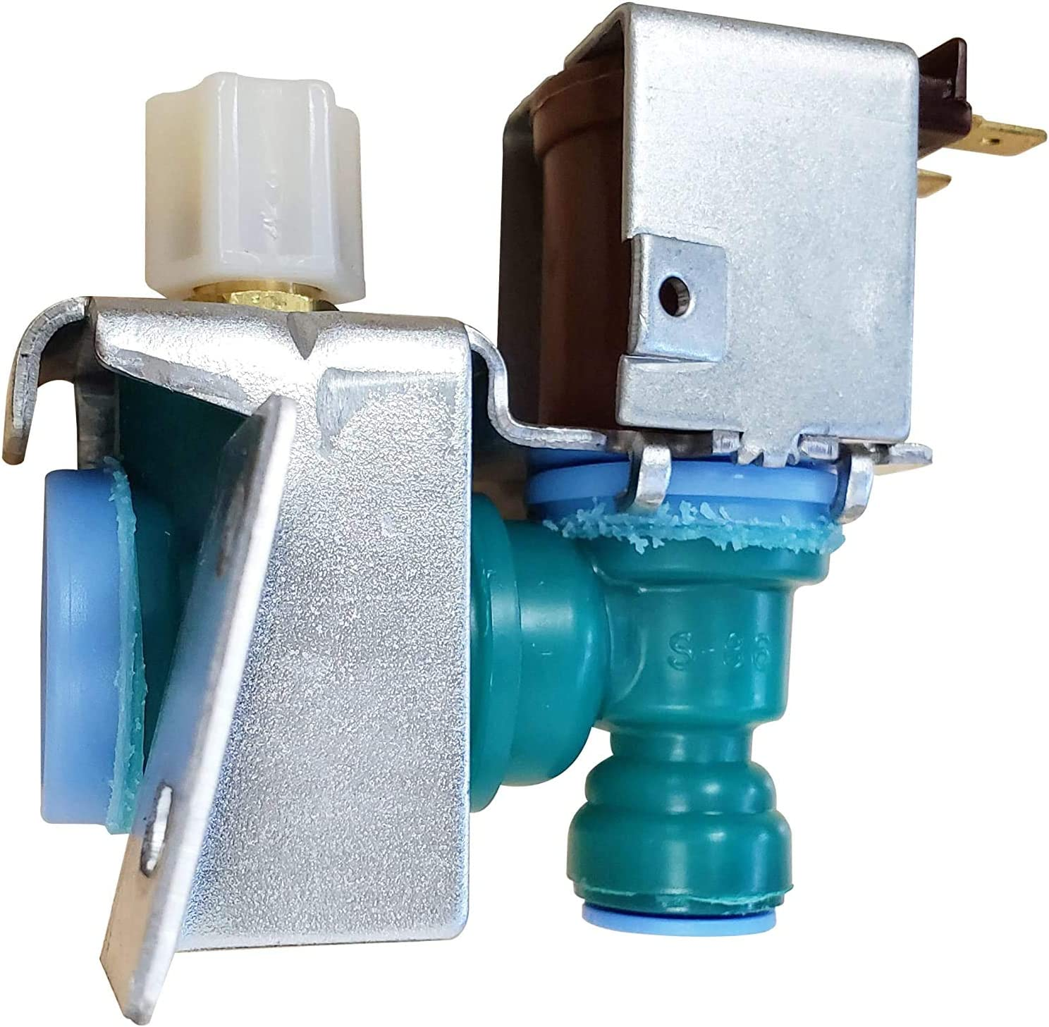 Krooli W10238100 WPW10238100 AP6017532 PS11750831 Refrigerator Water Inlet Valve Replacement for Whirlpool