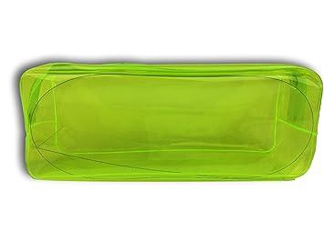 Estuche Plástico Colores Neón (Amarillo)