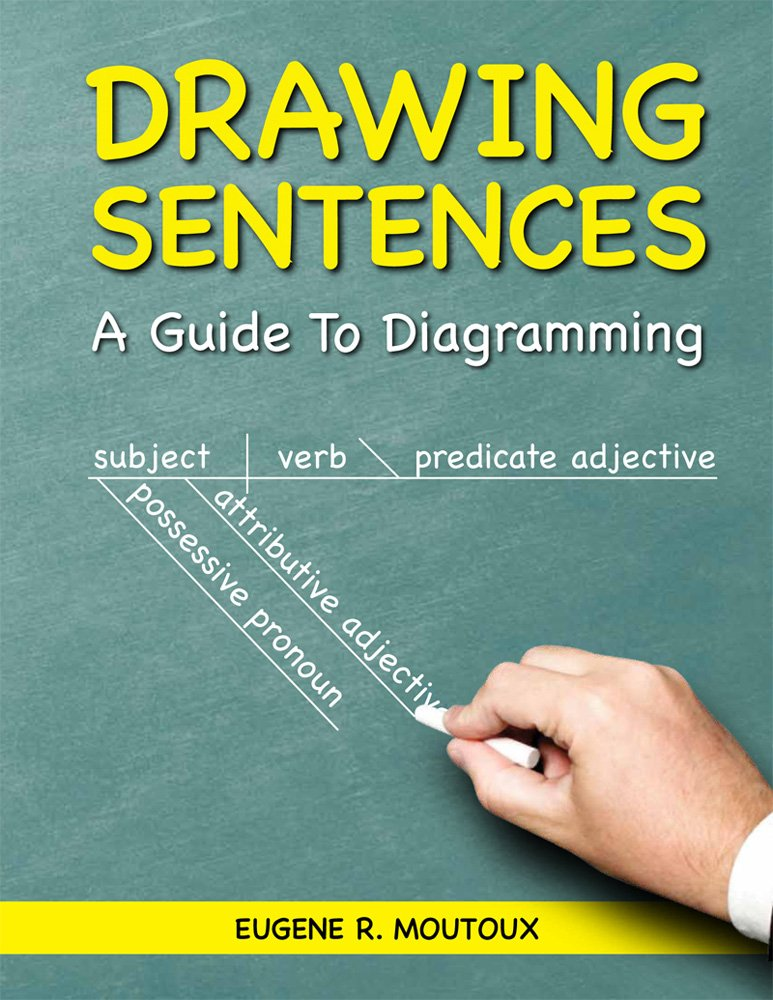 Drawing sentences a guide to diagramming eugene moutoux drawing sentences a guide to diagramming eugene moutoux 9781935497158 amazon books ccuart Gallery