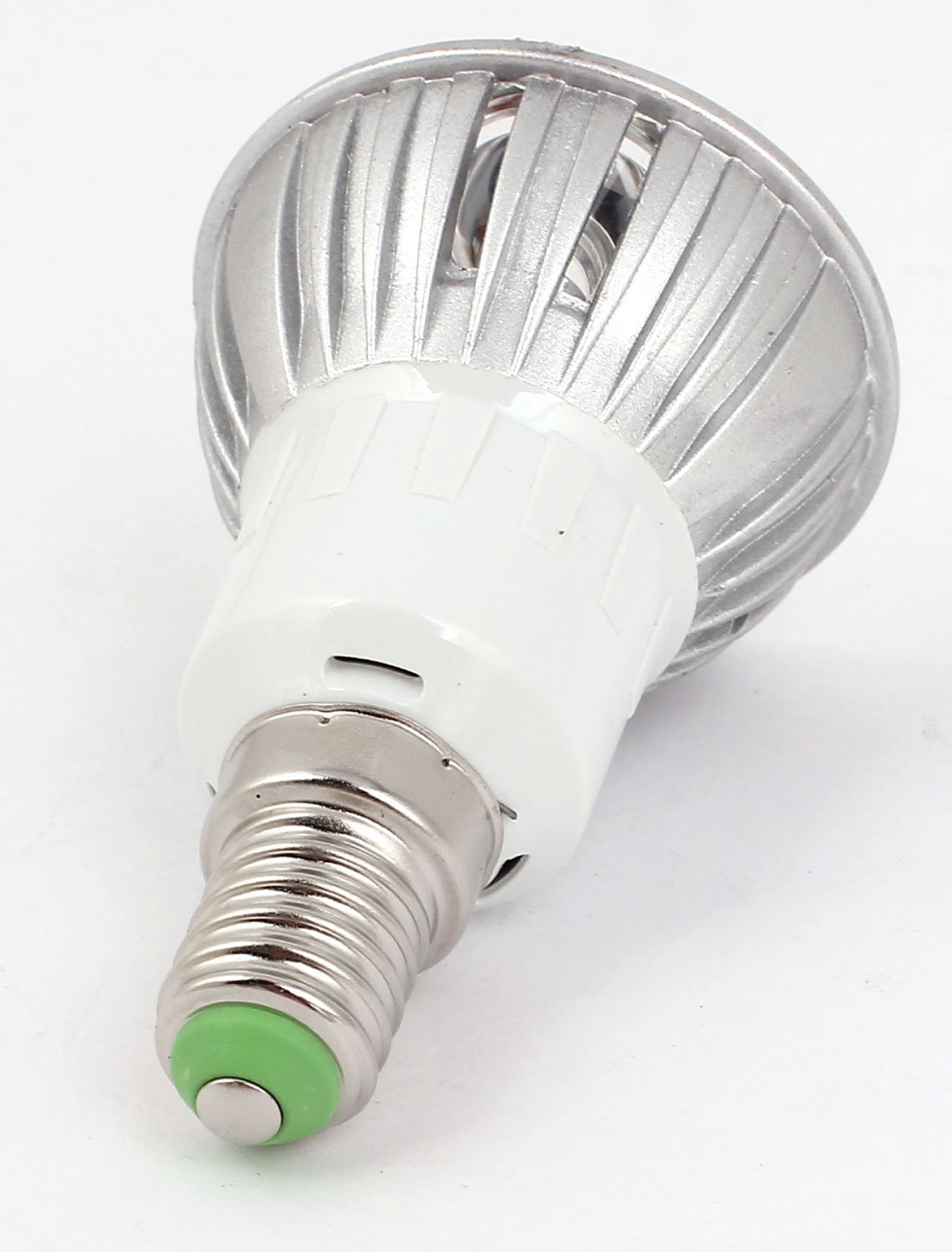 CA 85-265V 3W E14 3 Bombilla LED lámpara blanca pura Techo Foco - - Amazon.com
