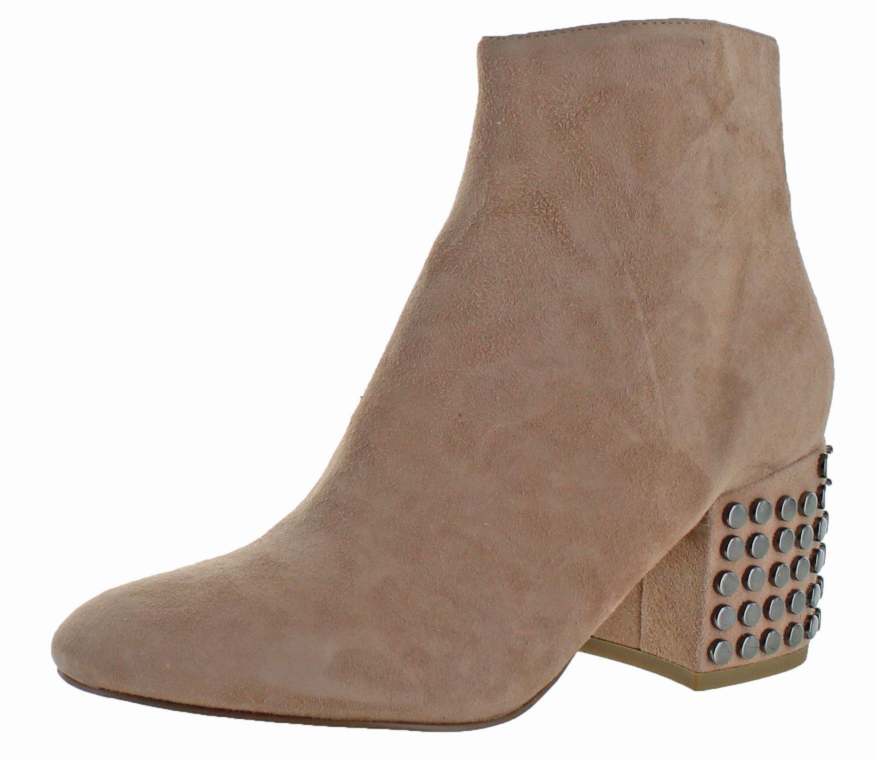 KENDALL + KYLIE Women's Blythe Ankle Boot, Blush, 9 Medium US