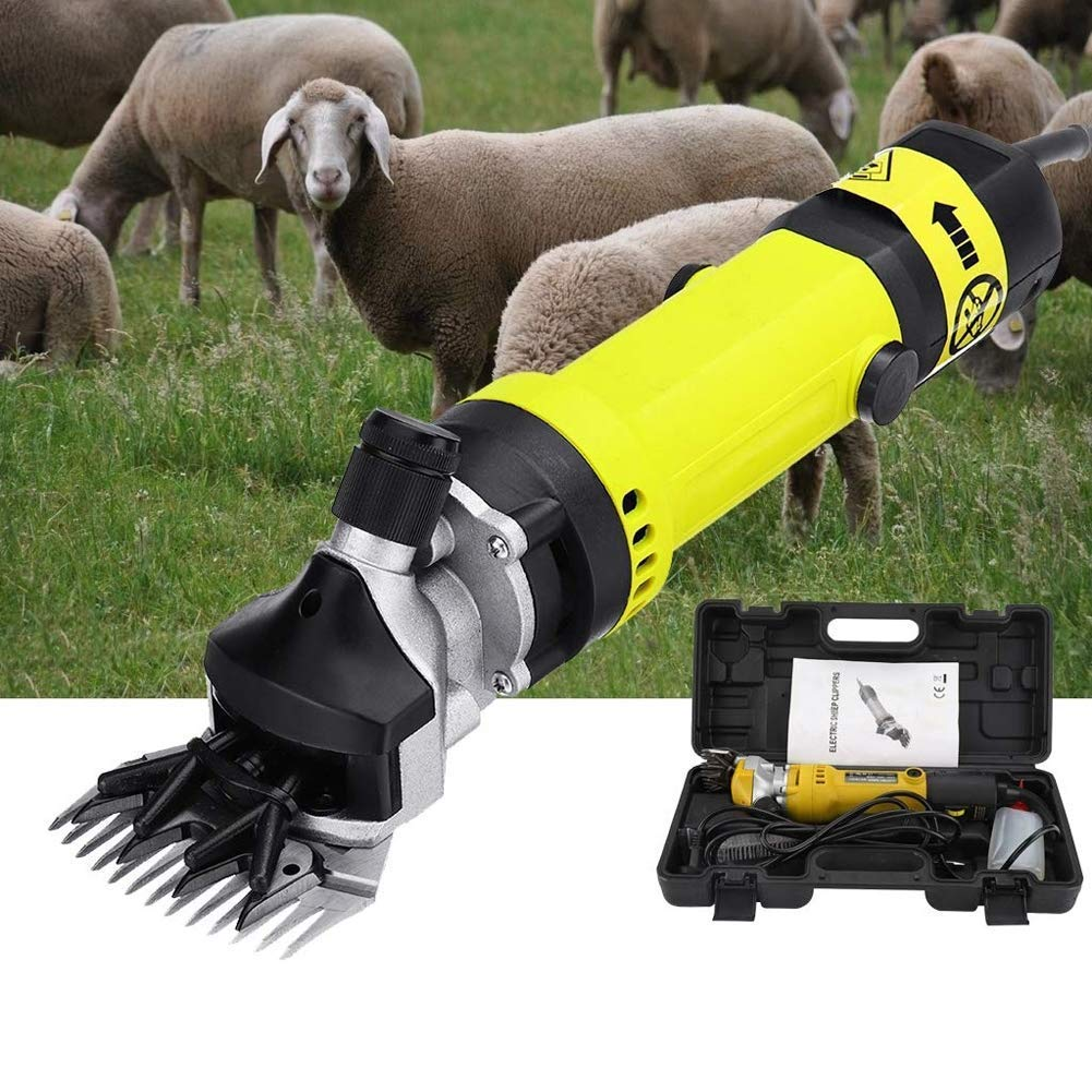 MAOFALZZNA Sheep Shears,320 Watts Portable Electric Goat Clippers for Llama Horse and Other Fur Livestock
