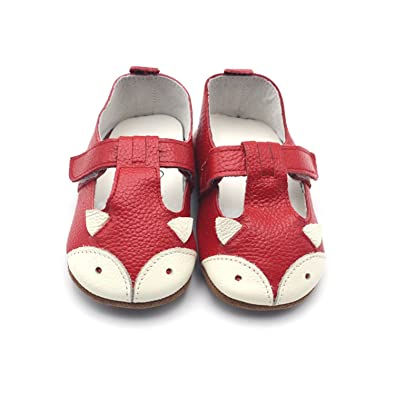Amazon.com   Terryws Genuine Leather Baby Moccasins Anti Slip Baby Girl Shoes Cartoon Girl Toddler Shoes 4 Colors   Oxford & Loafer