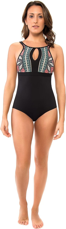 Skye Swimwear Womens Corralles Olivia One Piece Swimsuit
