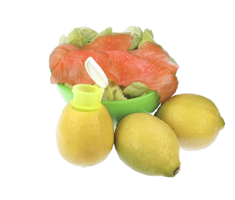 99helpers Saftpresse manuell Zitruspresse mit Ausgiesser Citruspresse Orangenpresse manuell Zitronensaft Spender