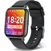 Smartwatch, 1.69'' Reloj Inteligente Hombre Mujer, Impermeable IP68 Reloj Deportivo con Pulsómetro, Monitor de Sueño…