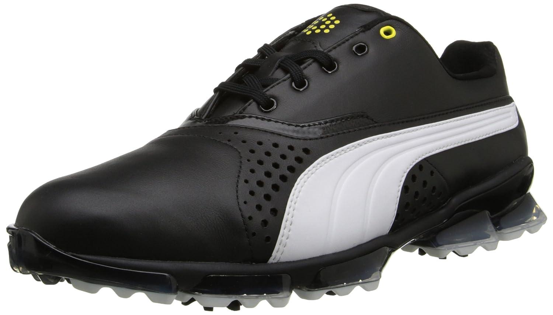 PUMA Men's Titantour Golf Shoe B00QKHMDM0 9.5 D(M) US|Black/White
