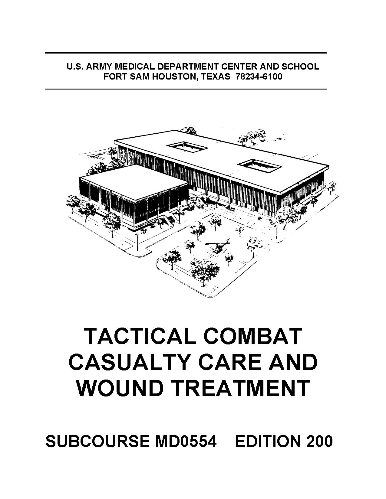MD0554 MD 0554 - Tactical Combat Casualty Care & Wound Treatment Edition 200 (Loose Leaf) pdf epub