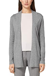S.oliver Red Label Longcardigan Mit Wollanteil Dusty Blue Melange