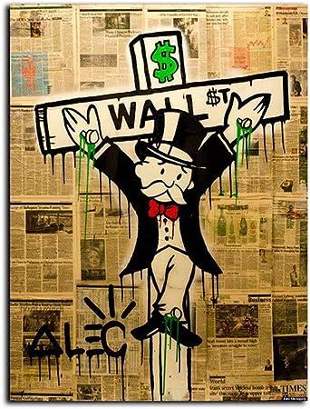 Cuadro En Lienzo Alec Monopoly