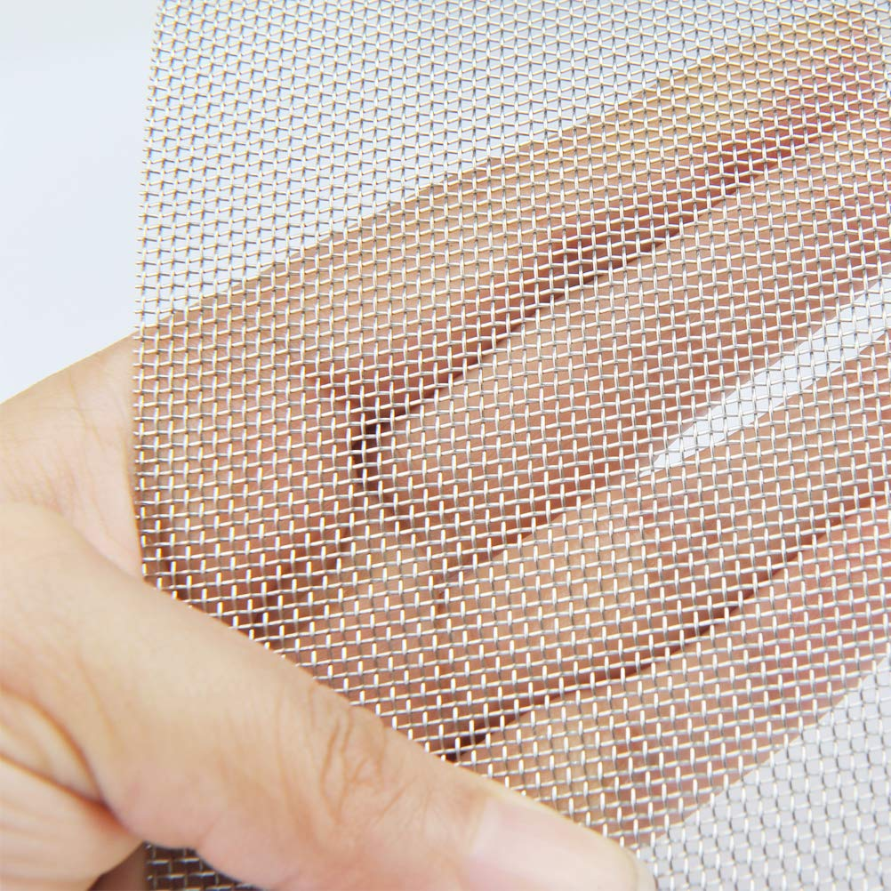A4 -TXJ-EU TIMESETL 3pcs Stainless Steel Woven Wire Mesh Rodent Proof Metal Mesh Sheet 1mm Hole Great For Airbricks 210 x 300mm
