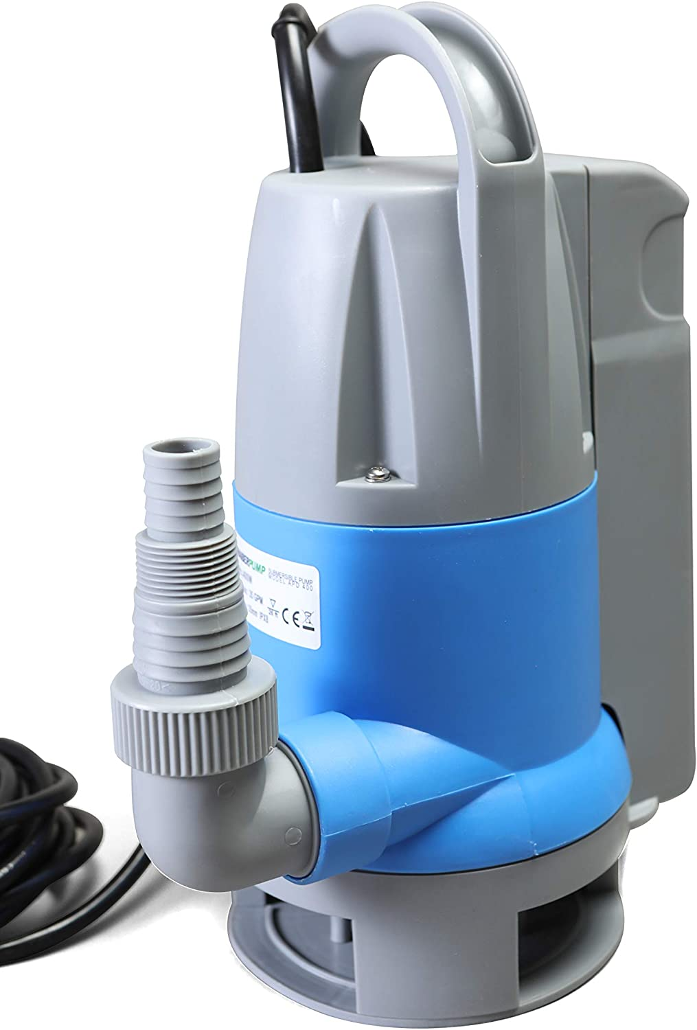 Submersible Clean/Dirty Water Sump Pump 1/2hp with built in Automatic ON/OFF (no external float switch needed) 2100GPH, 16'Head, Thermal Protector, Copper Winding - Schraiberpump