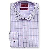 Van Heusen Men's Slim Fit Window Check Business Shirt