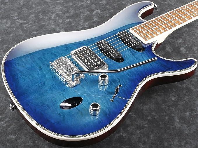 Ibanez SA460 QM-SPB · Guitarra eléctrica: Amazon.es: Amazon.es
