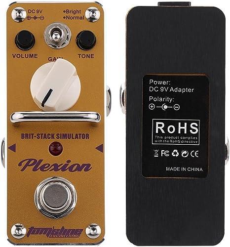 Aroma apn-3 plexion brit-stack simulador guitarra eléctrica efecto ...
