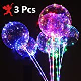Party Propz™ Transparent LED Balloon (Set of 3)