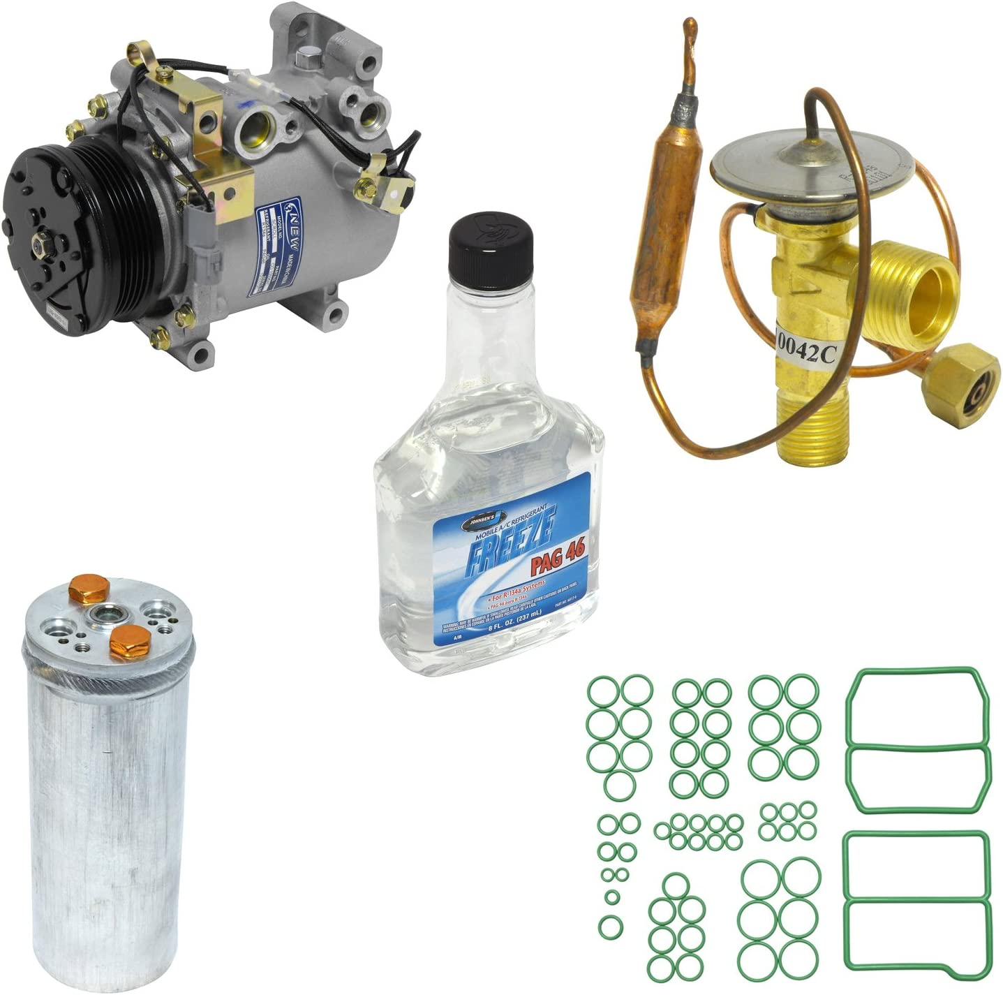 Universal Air Conditioner KT 3215 A//C Compressor and Component Kit