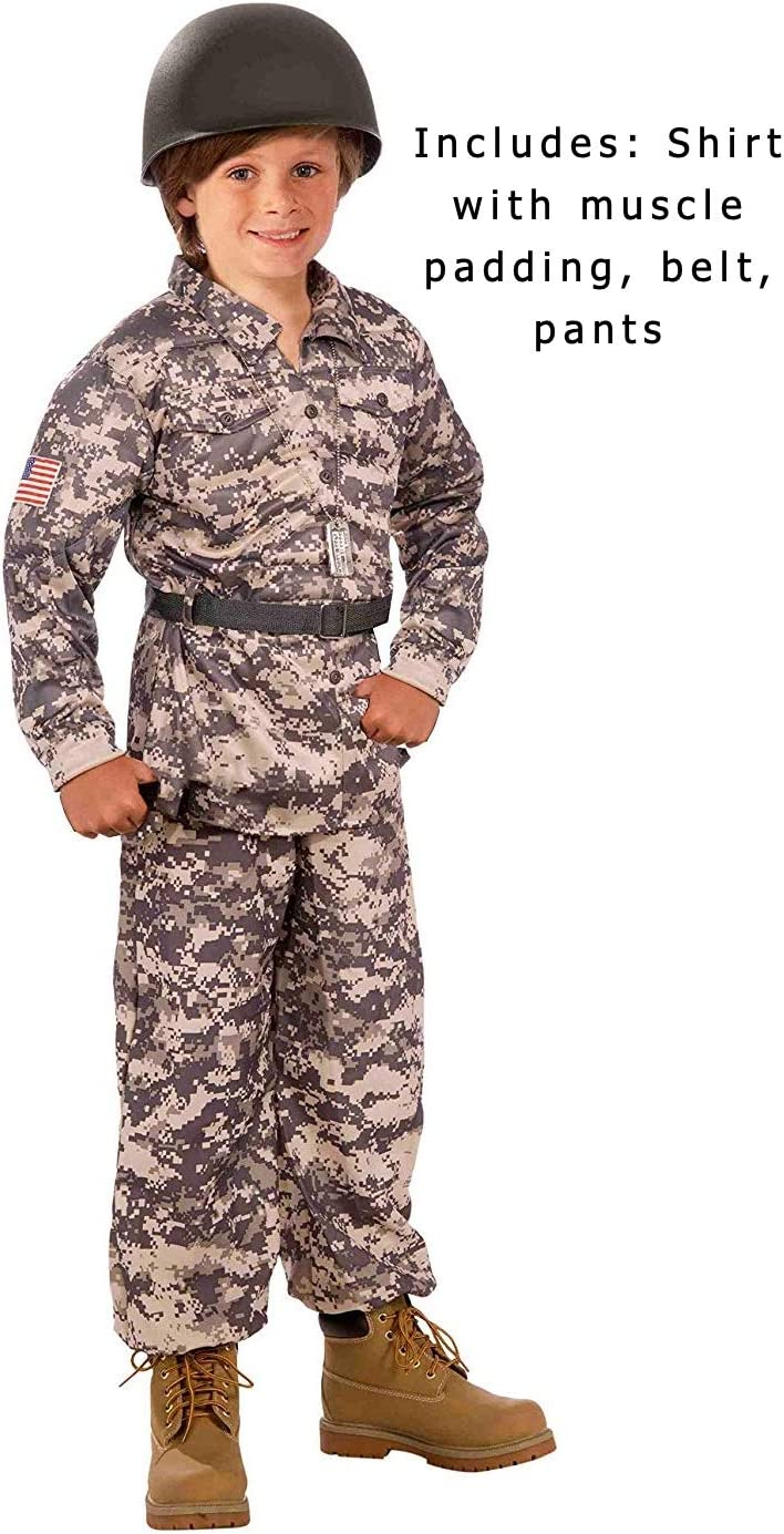 Medium Forum Novelties Desert Soldier Child Costume