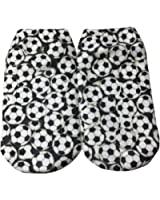Soccer Ball Themed Junior Womens' Ankle-No Show Socks 1 Pair