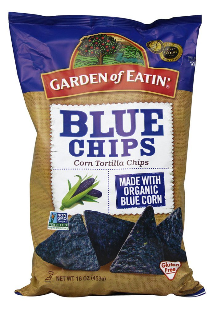 Amazoncom Garden of Eatin Blue Corn Tortilla Chips 16 Ounce