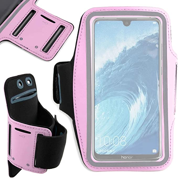 DURAGADGET Brazalete Deportivo Rosa para Smartphone Huawei Honor 8X: Amazon.es: Electrónica